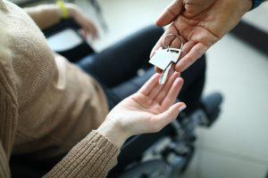 Maison adaptée pour personne à mobilité réduite.